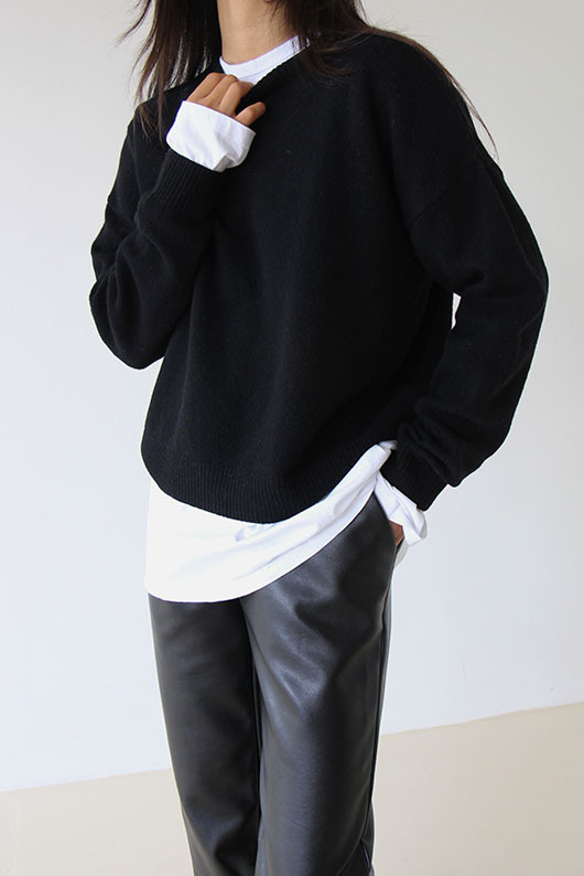 [BLOSSOM] COZY WOOL KNIT