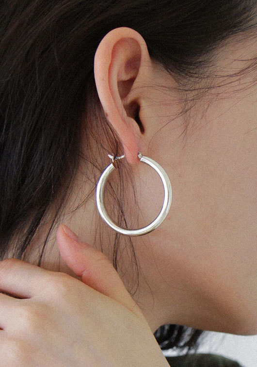 ONE TOUCH EARRING(925 silver)